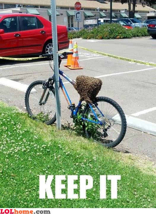 Keep my bike