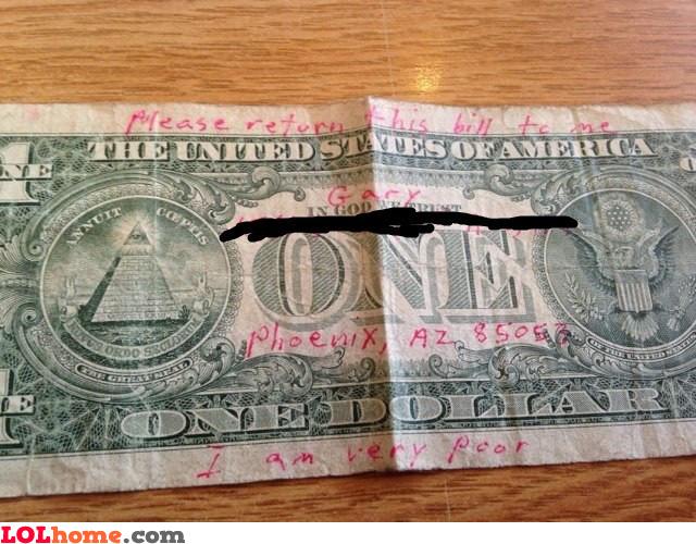 Return the bill