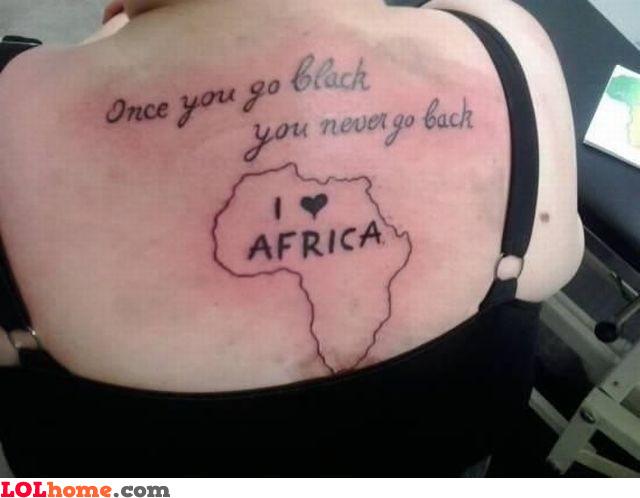 You go black