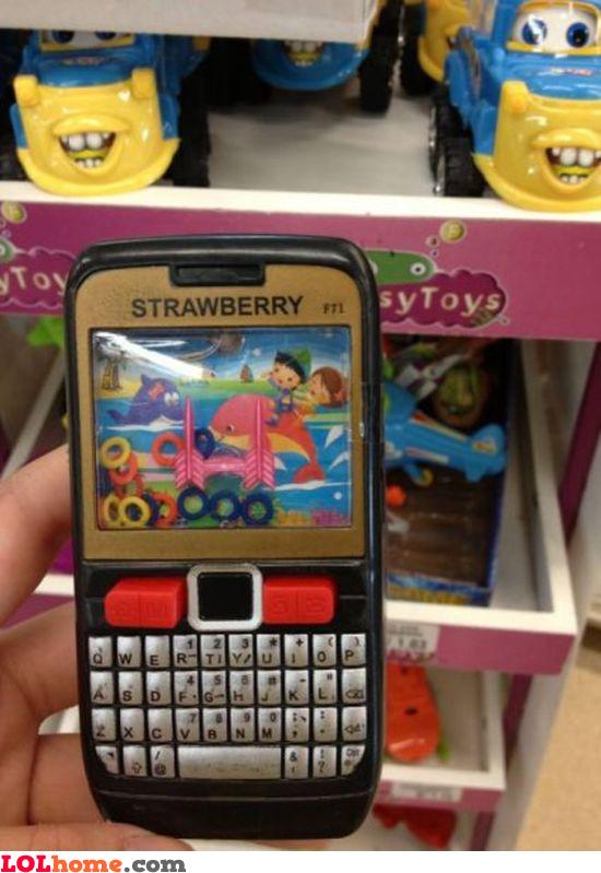Strawberry phone