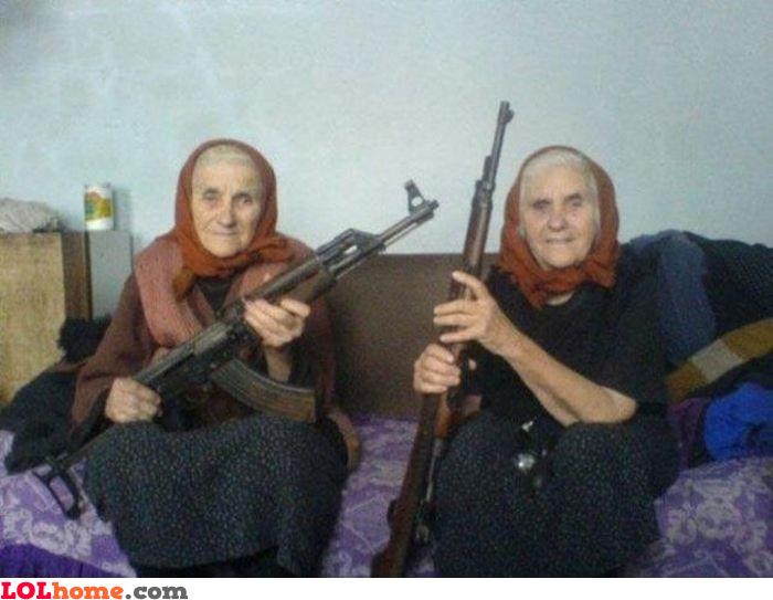 We got guns