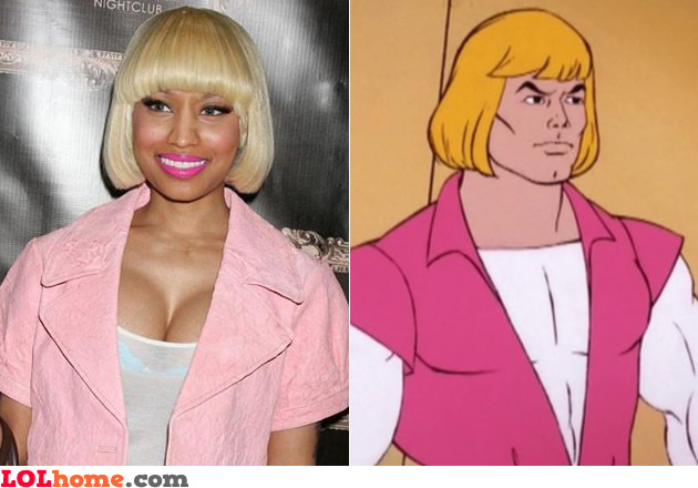 Nicki Minaj is He-Man