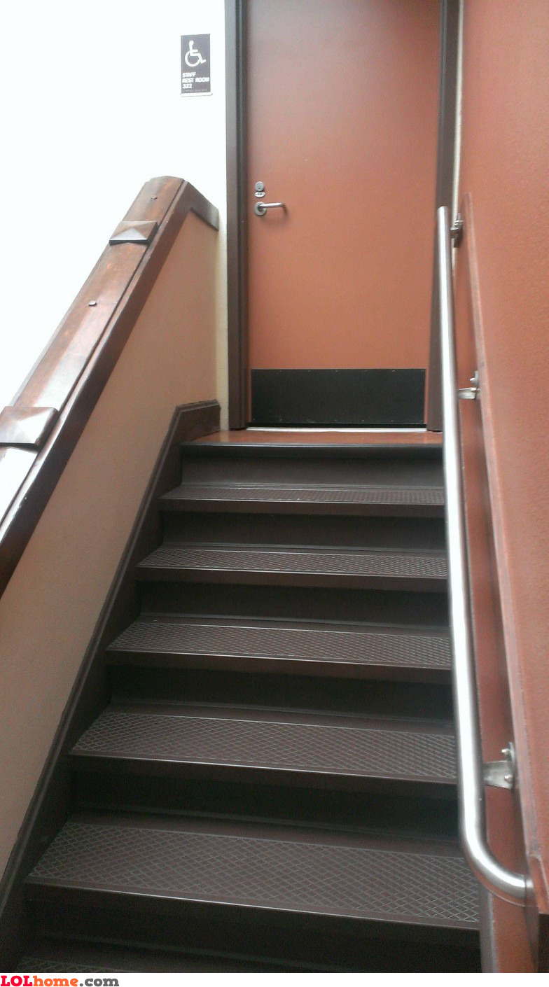 Stairs for disabled