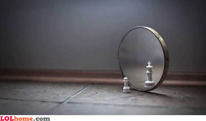 A pawn's ego