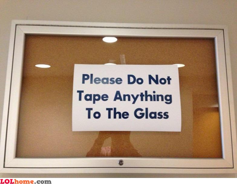 Ironic sign