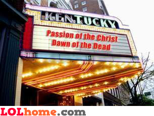 Passion of the Christ Dawn of the Dead