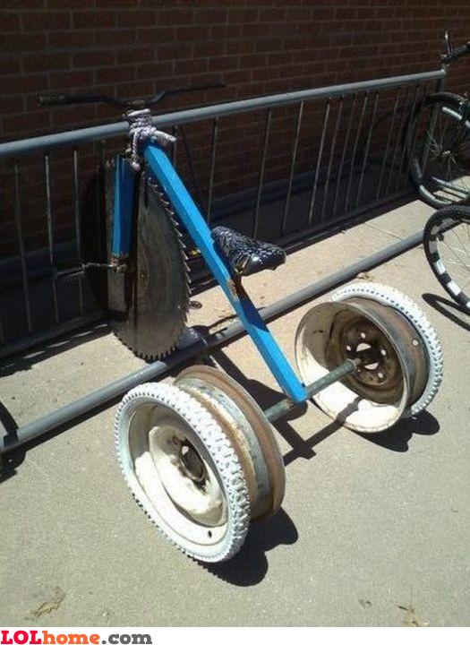 Hardcore tricycle