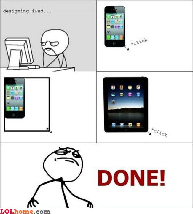 Designing the iPad