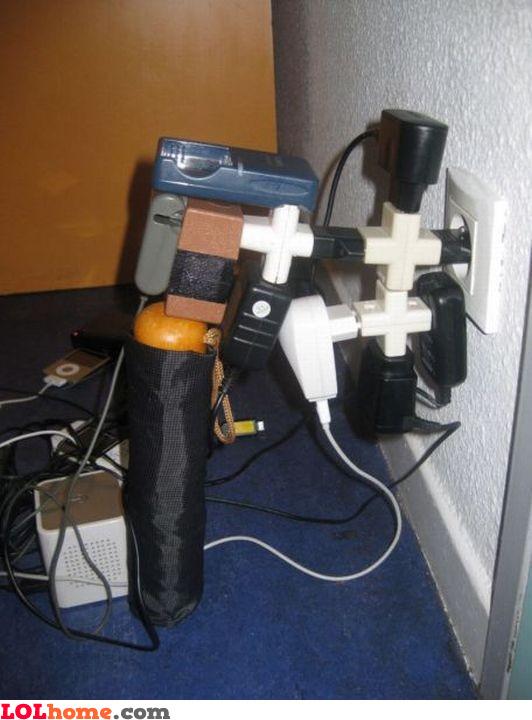 Charger socket