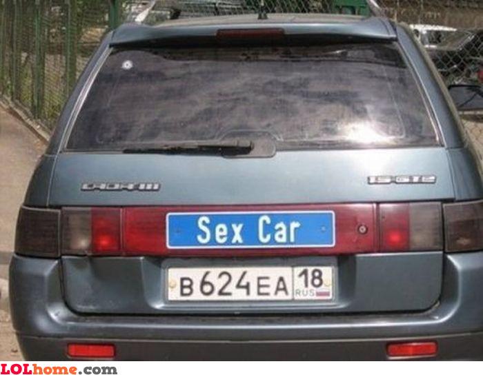 The sex car