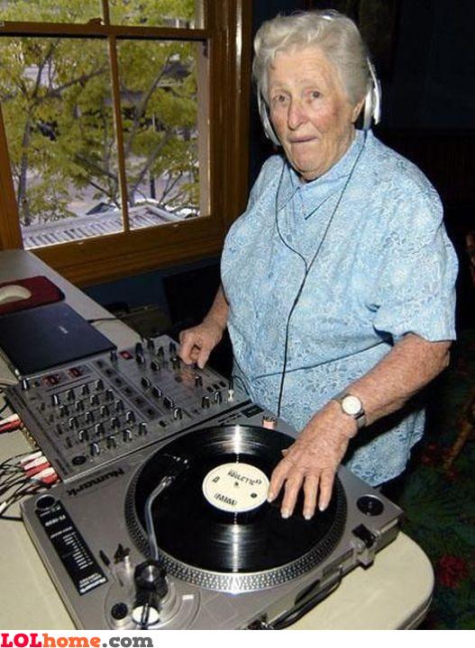 DJ grandma