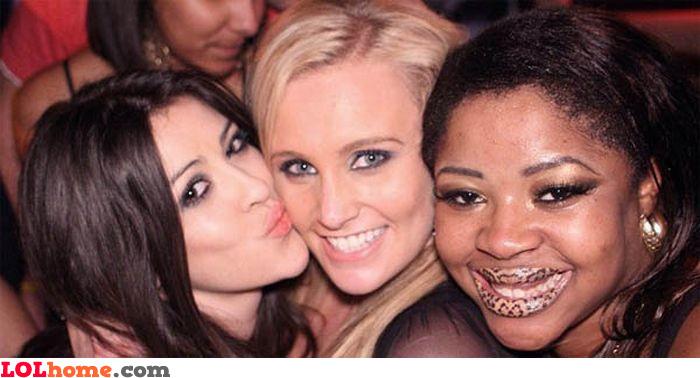 Leopard lipstick
