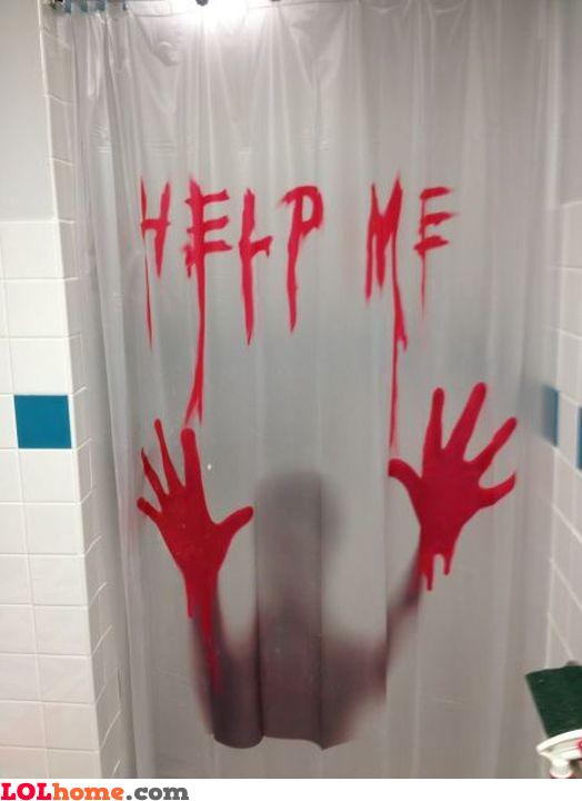 Shower murder