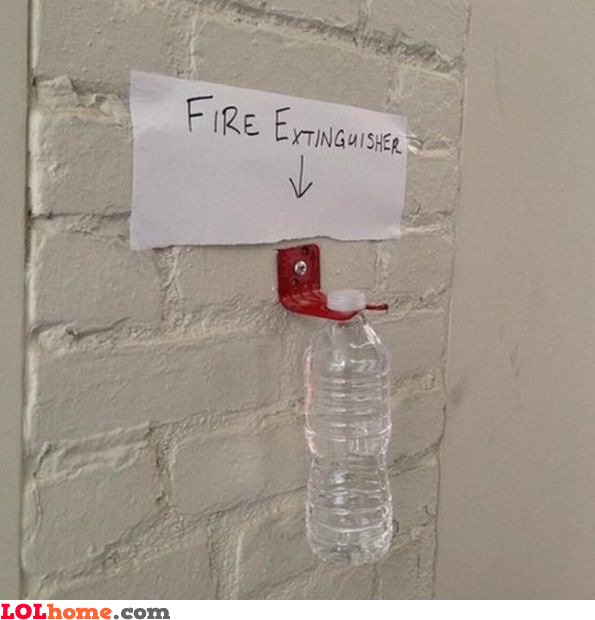 Cheap fire extinguisher