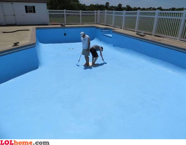 Pool repaint