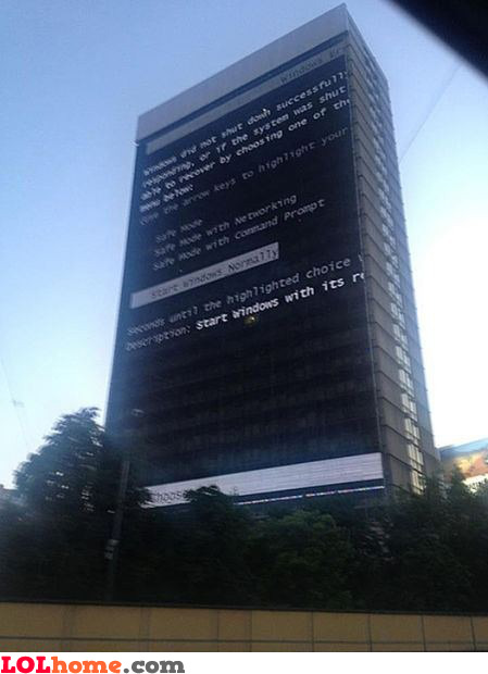 Building error