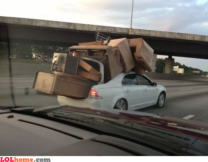 Redneck furniture transport