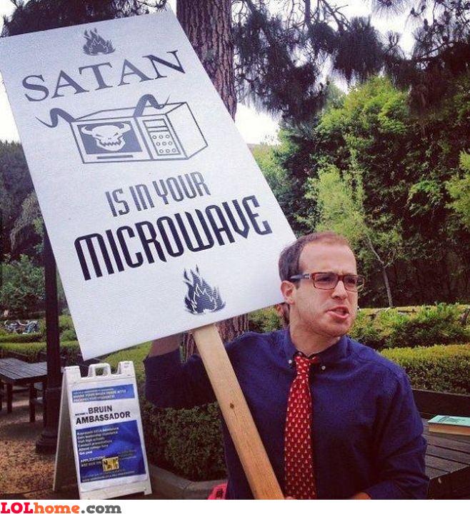 Microwave Satan