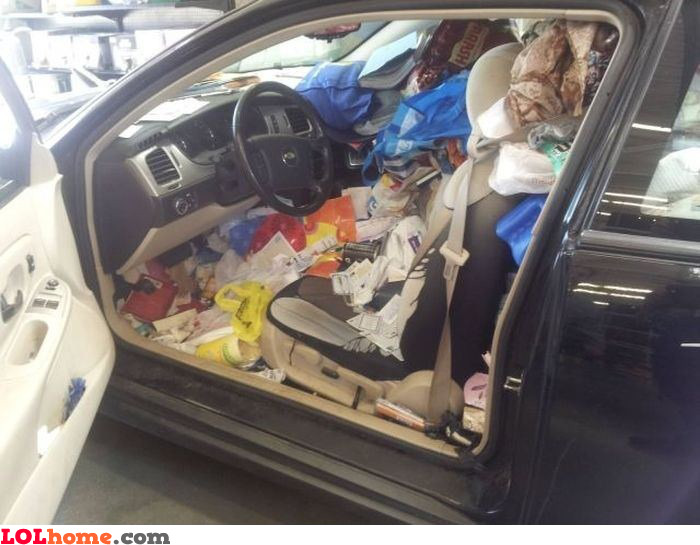 dirty car funny pic. Black Bedroom Furniture Sets. Home Design Ideas