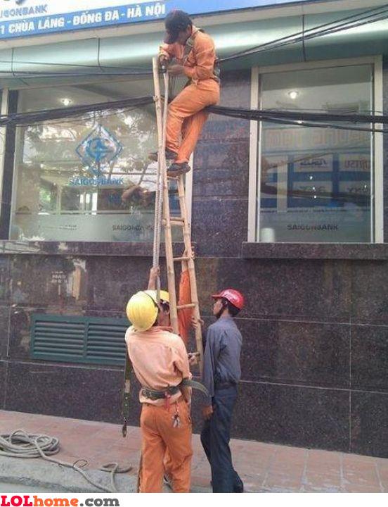Third world country ladder