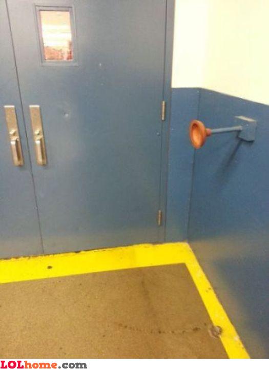 Door plunger