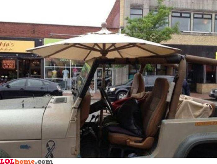 Shadeless car