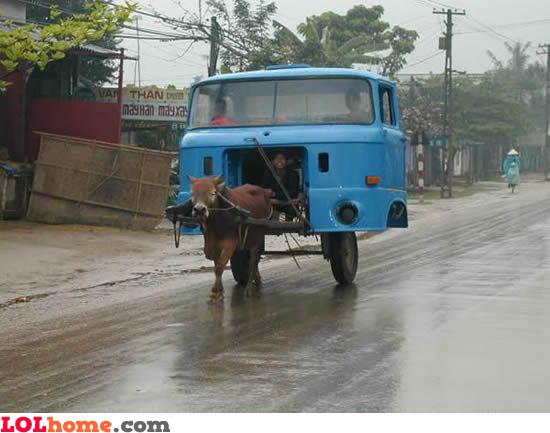 high tech truck