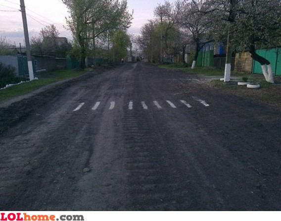 Legit crossing