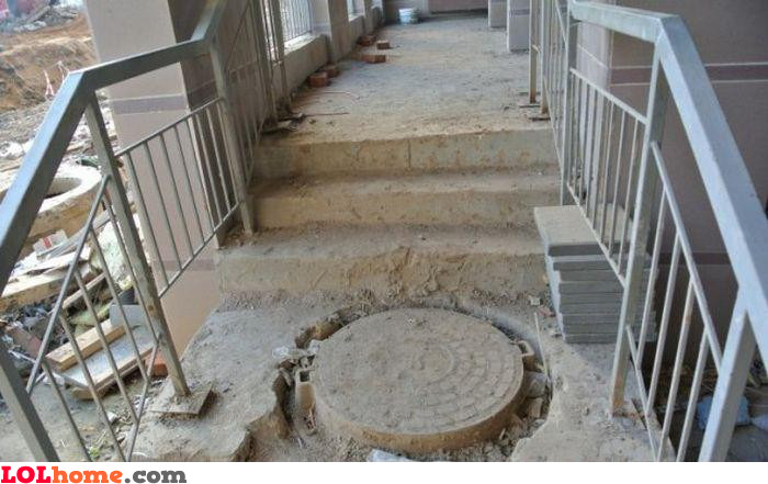 Sewer access placement