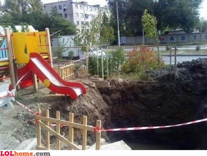 Extreme slide