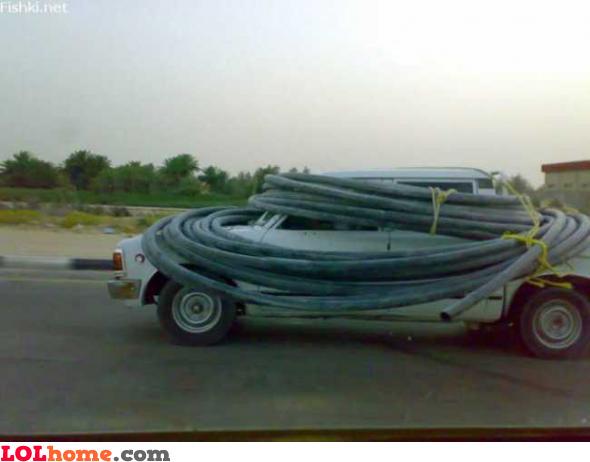 Transporting tubes