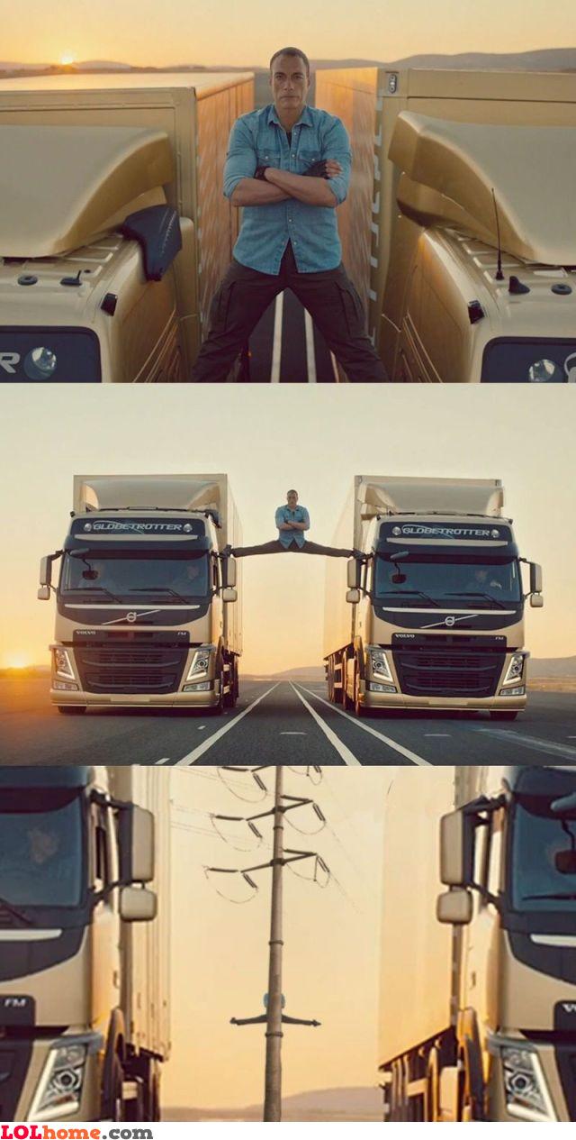 Van Damme's extended video