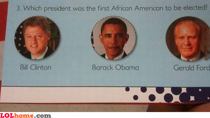 First African American