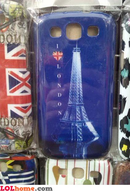 London's Eiffel tower