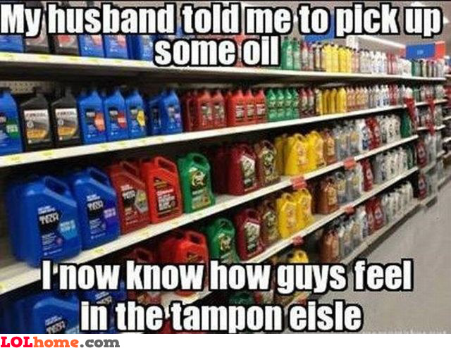 Pick up some oil