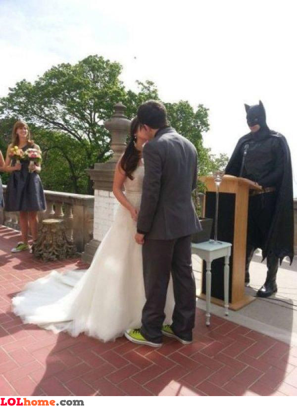 Wedded by Batman
