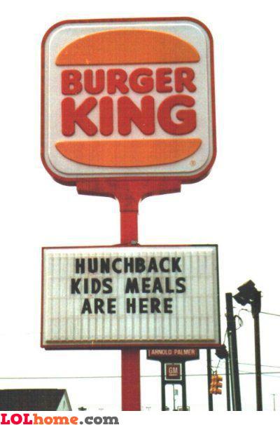 Hunchback kids