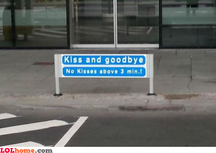 Kiss for only 3 mins