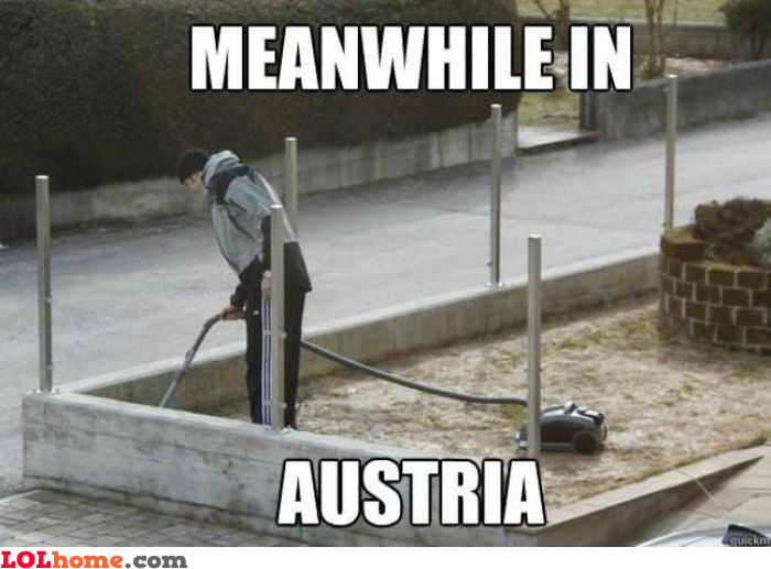 Cleaning in Austria