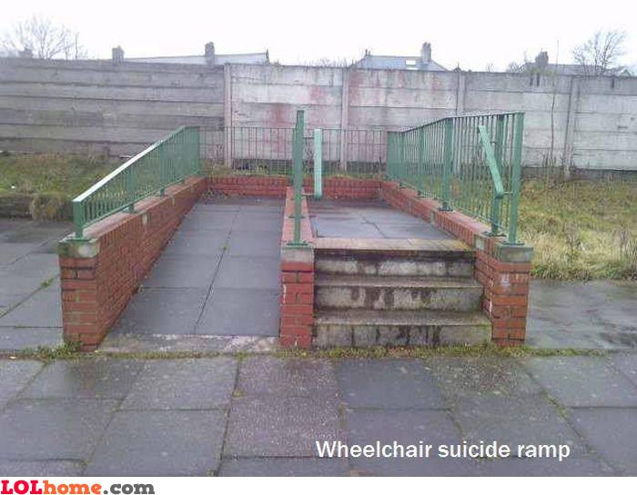 Suicide ramp