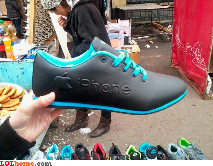 iPhone sneakers