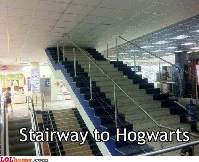 Stairway to Hogwarts