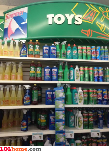 Toys aisle
