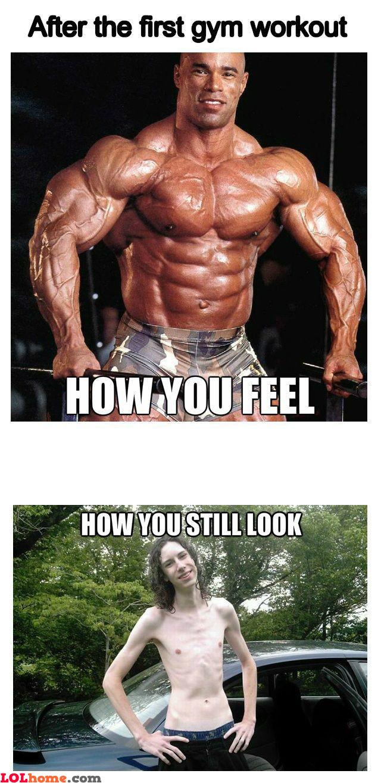 First gym workout