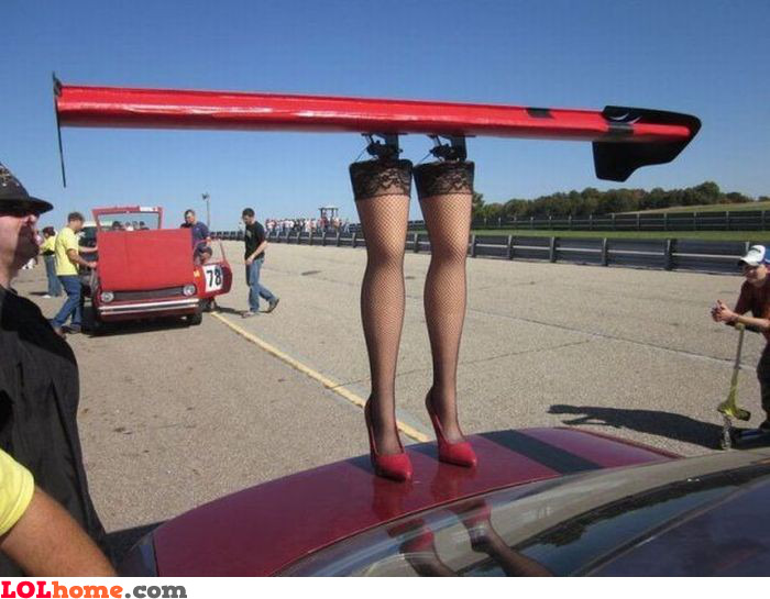 Sexy car wings