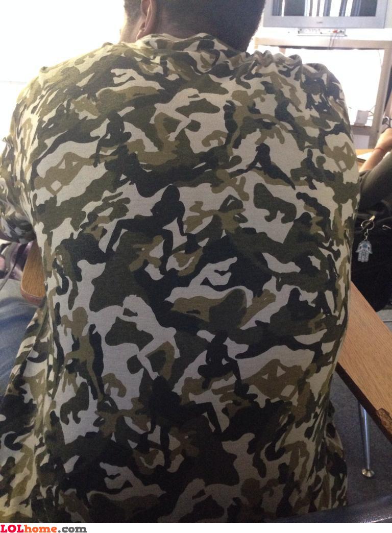 Camo gear