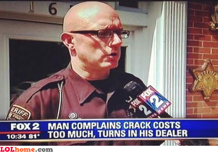 Crack too expensive