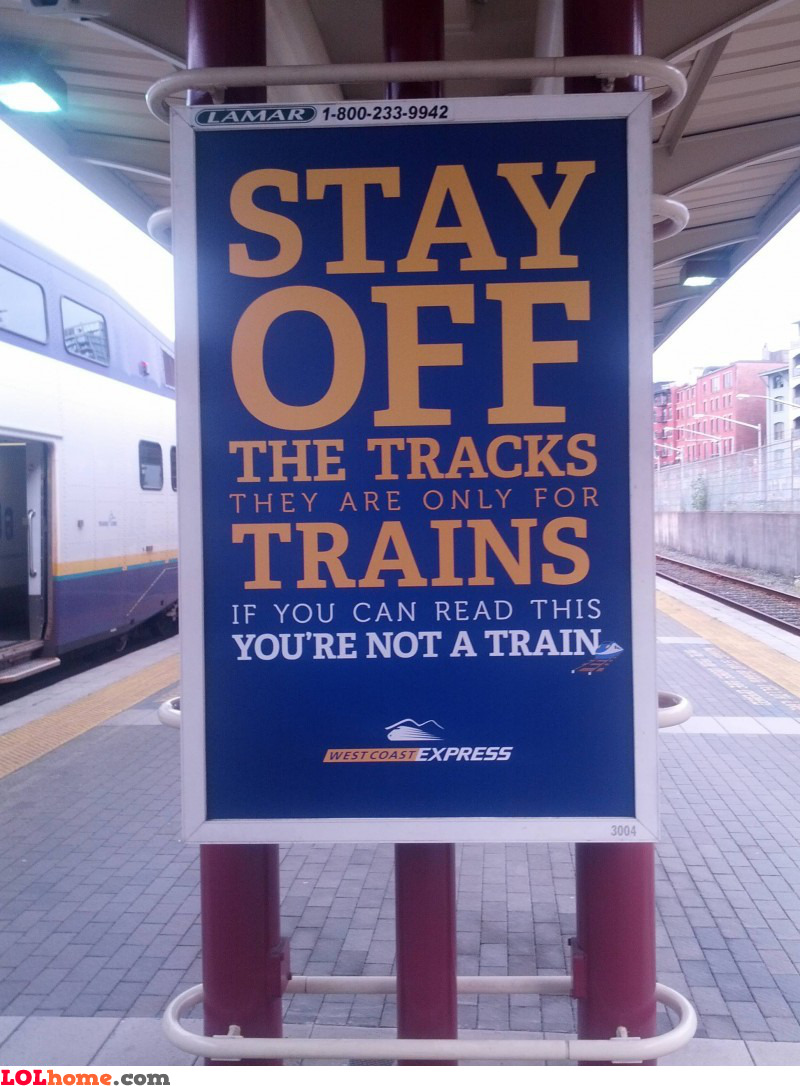 Blind people are trains