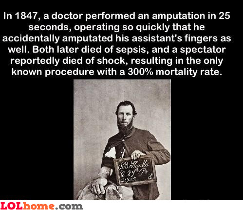 Bad luck doctor