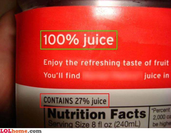Complete juice